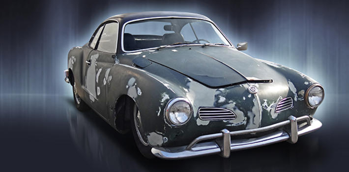 1968 Karman Ghia coupe, sanded, lowered and a perfect project! http://www.virginoutlaws.com/thumbs/710x350/assets/components/gallery/files/302/18805.jpg